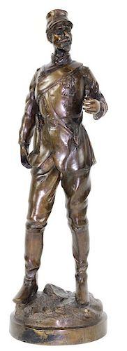 Alexandre Falguiere French Bronze Sculpture