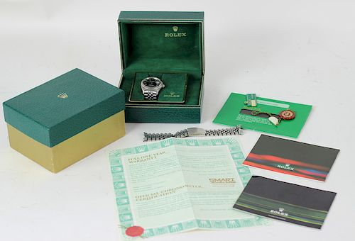 Gents Rolex Stainless Perpetual Datejust Watch