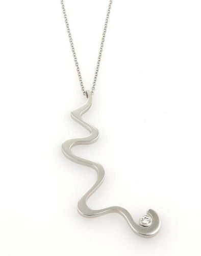 Tiffany & Co. Frank Gehry Equus 18K Gold Necklace