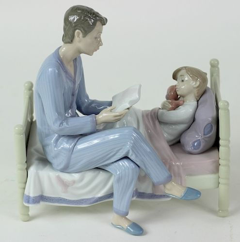 """Lladro """"Just One More"""" 5899 Porcelain Figure"""