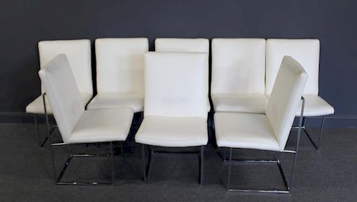 Set Of 8 Milo Baughman For Thayer Coggin Chairs. By Clarke ...