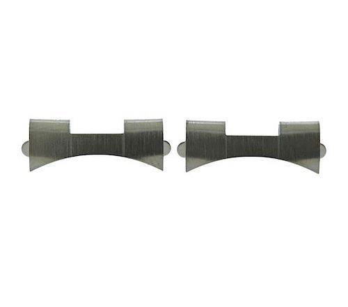 Rolex Watch Stainless Steel Bracelet End Links 557