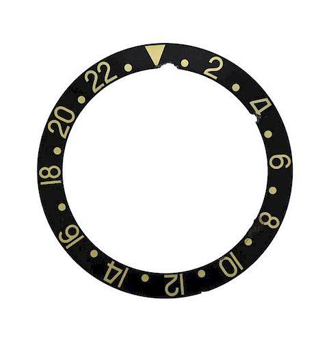 Rolex Watch Black Bezel Insert