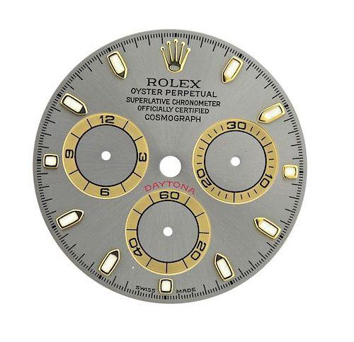 Rolex Daytona Cosmograph Watch Dial