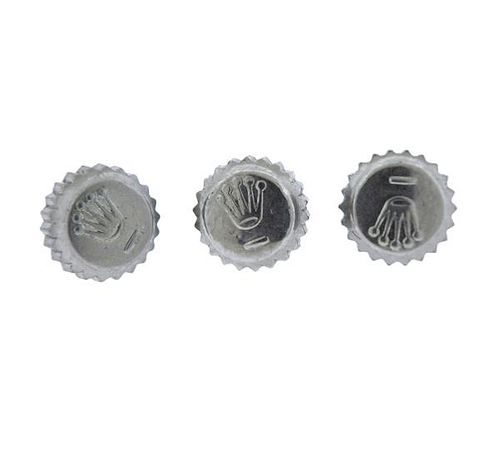 Rolex 5.2mm Watch Crown Lot of 3