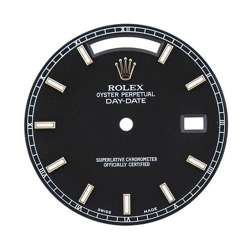 Rolex President Day Date Watch Dial