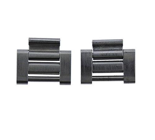 Rolex Watch Stainless Steel Bracelet Links 2pc