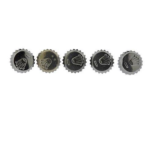 Rolex Watch 6mm Crown Lot of 5