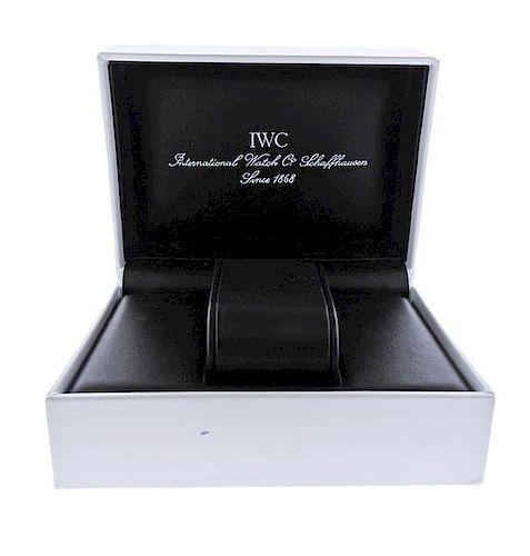 IWC Shaffhausen Watch Box