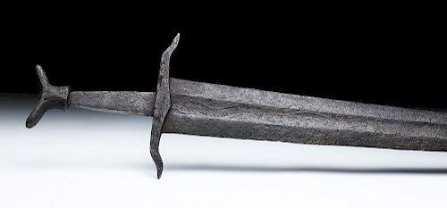 Royal Family Medieval Iron Sword, Oakeshott Type XIV