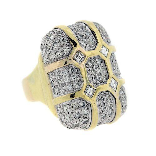 David Stern Diamond Gold Ring