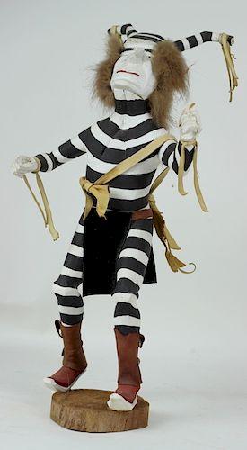 20th C. H/P Carved Wooden Hopi Kachina Doll