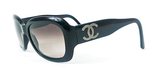 Chanel CC Logo 5102 Black Ladies Sunglasses