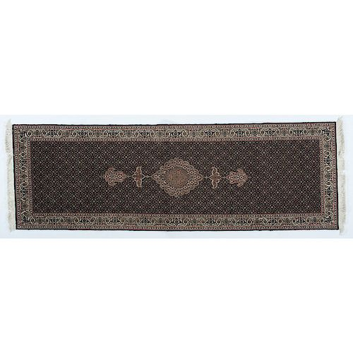 Tabriz Runner With Fish Design By Cowan's Auctions