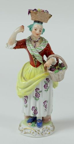 19th/20th C. Meissen German Porcelain Figurine