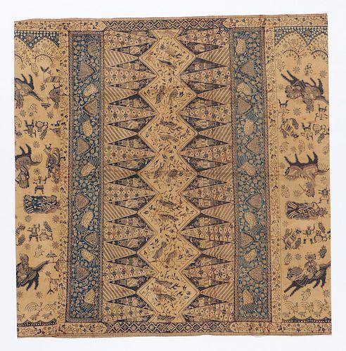 Museum Quality Tulis Batik, Early 20th C