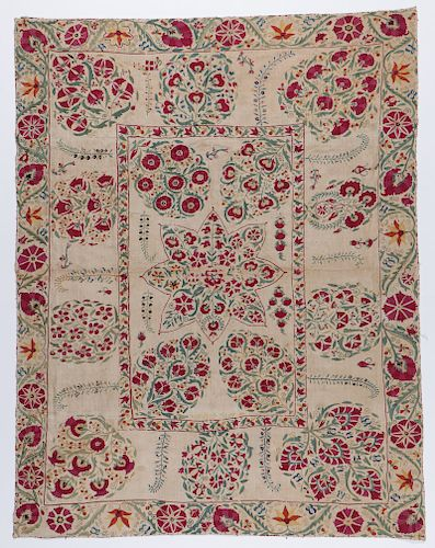 Central Asian Suzani, Early 19th C