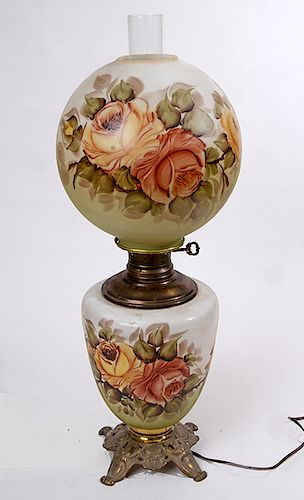 """""""Gone With the Wind"""" Lamp"""