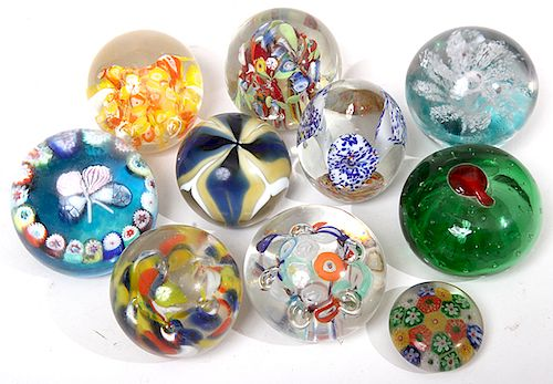 Paper Weight Collection