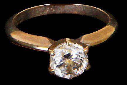Lady's Diamond Solitaire