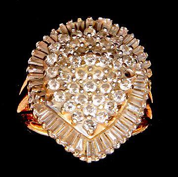 Lady's Ballerina Diamond Ring