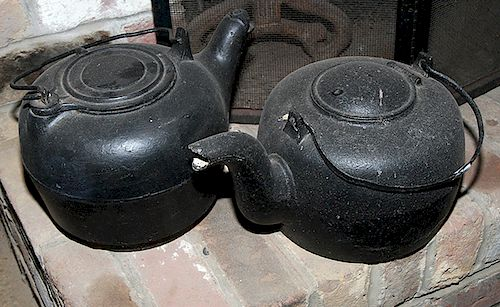 Cast Iron Tea Kettles