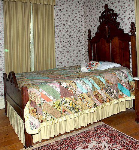 Three Piece Victorian Walnut Bedroom Suite