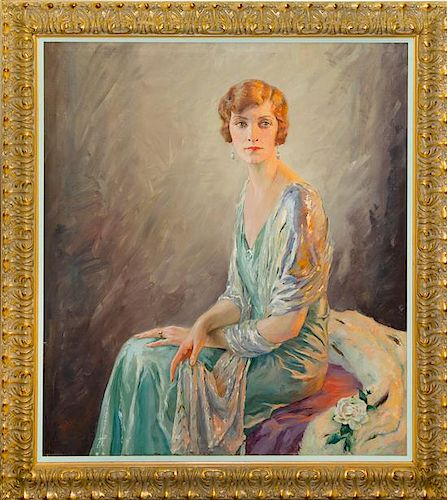 * Artist Unknown, (First Quarter 20th century), Portrait of a Lady