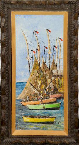 Guerda Louizor, (Haitian, b. 1940), Untitled