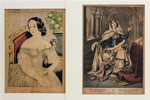 * A Group of American Prints, most after Currier & Ives