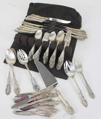 Vintage Wallace Sterling Silver 87pc. Set
