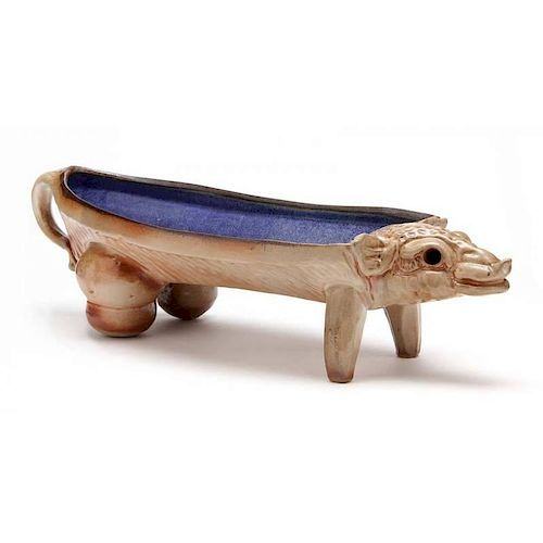 Studio Pottery, Peter Rose Pottery, Figural Serving Dish
