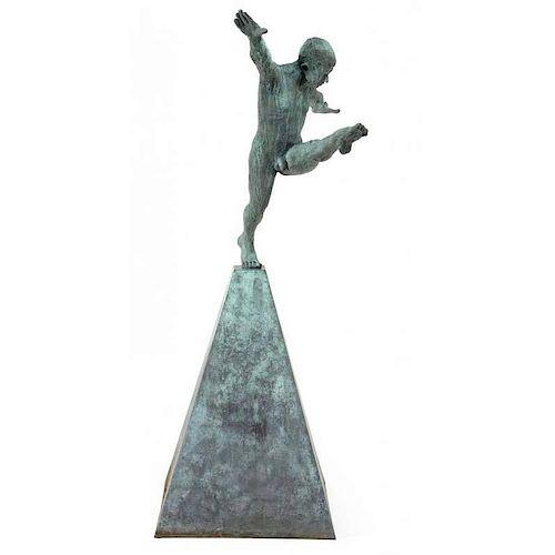 "Gino Miles (20th/21st Century), ""Leap of Faith"""