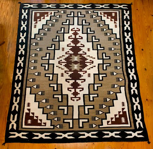 Eleanor Judy, Navajo , Two Gray Hills Rug