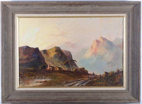 Francis E. Jamieson Oil on Canvas