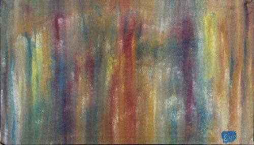 RAMSEY, Burt. Oil on Canvas. Abstract.