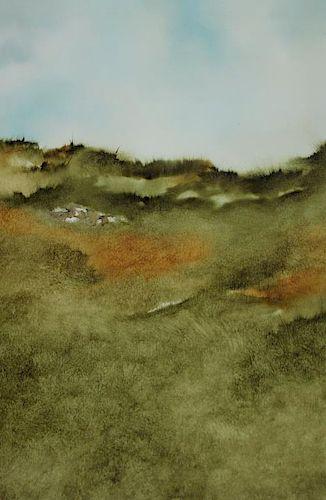 RUMMELHOFF, John. Oil on Canvas. Landscape.