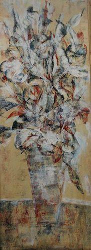 BORNSTEIN, Yetta. Watercolor On Board.