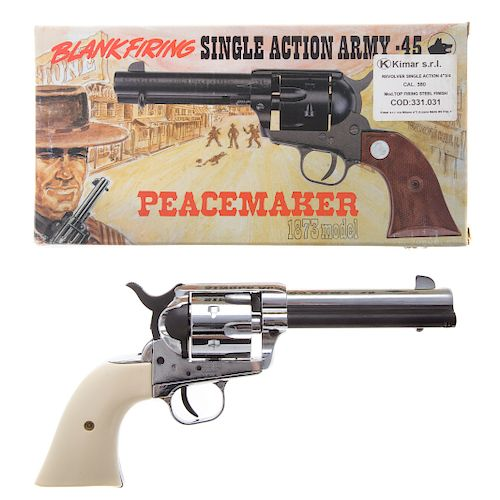 Kimar 380 caliber, model 1873 Peacemaker by Alex Cooper Auctioneers