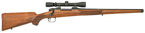 Exceptional Winchester Pre'64 Model 80 Custom Mannlicher Rifle by Roy Bedeaux