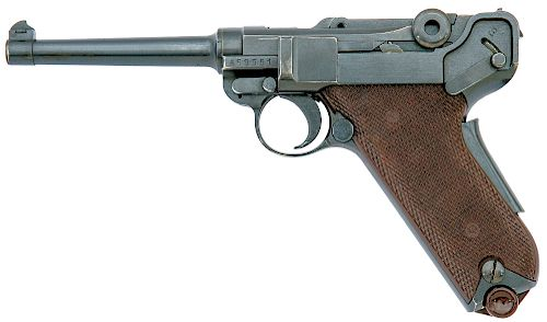 Swiss Model 1906/29 Luger Pistol by Waffenfabrik Bern