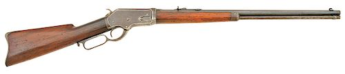 Whitney Scharf Model 1886 Lever Action Sporting Rifle