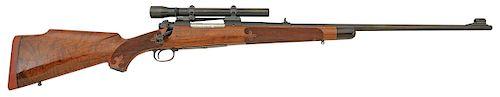 Custom George Sherwood Engraved Winchester Model 70 Rifle
