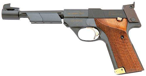 High Standard 1980 Olympic Commemorative Semi-Auto Pistol