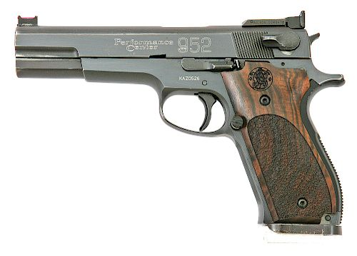 Smith and Wesson Performance Center Model 952-1 Semi-Auto Match Pistol