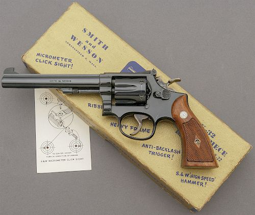 Smith and Wesson K-32 Masterpiece Hand Ejector Revolver