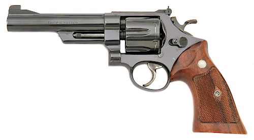 Smith and Wesson Model 1955 Heavy Barrel Target Hand Ejector Revolver