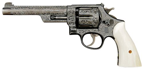 Smith and Wesson 357 Registered Magnum Double Action Revolver