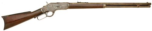 Winchester Model 1873 Lever Action Rifle