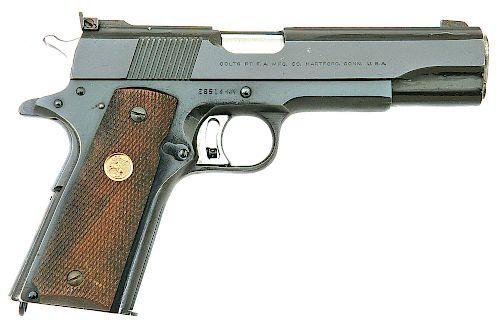 Colt National Match Semi-Automatic Pistol